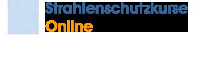 Strahlenschutzkurse Online Logo
